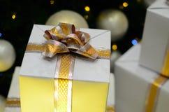 Presentes para o Natal Fotografia de Stock Royalty Free