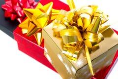 Presentes para o Natal Fotografia de Stock