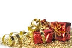 Presentes para o Natal Imagem de Stock