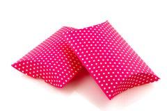 Presentes punteados color de rosa Fotografía de archivo libre de regalías