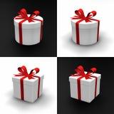 Presentes redondos e quadrados ilustração royalty free