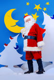 Presentes Santa Fotos de Stock