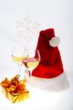 Presentes Santa imagens de stock royalty free
