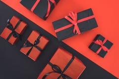 Presentes y cajas de regalo Foto de archivo