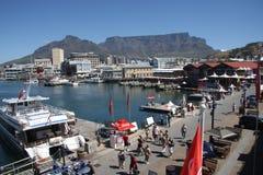 Lungomare di Cape Town Fotografia Stock