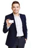 Presenting company Stock Image