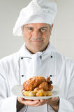 Presenting your dinner Royalty Free Stock Photography