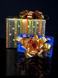 Presents. Christmas presents in the color packing Stock Photo
