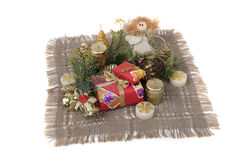 Presents. Christmas presents in the color packing Royalty Free Stock Photos