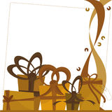 Presents background Stock Photography