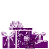 Presents background. Presents for occasions, party, birthday and others Royalty Free Stock Photography