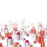 Presents background Stock Photo