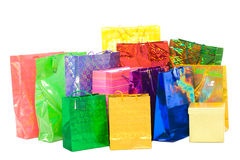 Presents bags Royalty Free Stock Images