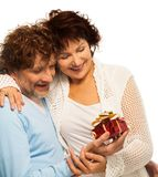 Presents better when you are senior Royalty Free Stock Image