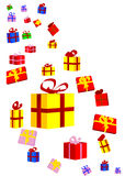 Presents and Bows Royalty Free Stock Image