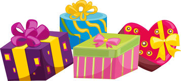 Presents for christmas Royalty Free Stock Photos