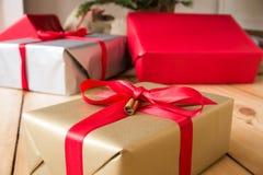 Presents for christmas Stock Photo