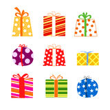Presents collection Royalty Free Stock Images