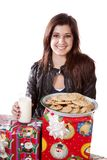 Presents cookies Stock Photography