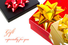 Presents especially for you Royalty Free Stock Photography