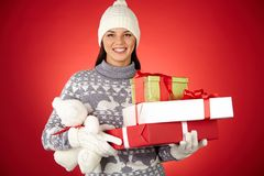 Presents for everybody Royalty Free Stock Photography