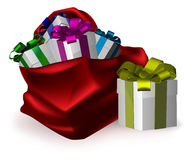 Presents for everyone Stock Images