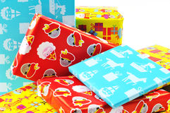 Presents For Sinterklaas Stock Photography