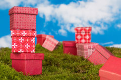 Presents and gifts Royalty Free Stock Images