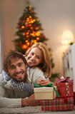 Presents for holiday Royalty Free Stock Images