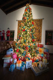 Presents Holiday Christmas Tree, Colors Royalty Free Stock Image