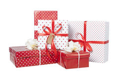 Presents isolated Stock Photo