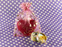 Presents for lovers Royalty Free Stock Photo