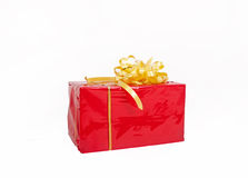 Presents over white Royalty Free Stock Image