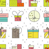 Presents Pattern Royalty Free Stock Images