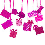 Presents and ribbons Royalty Free Stock Photo