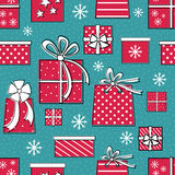 Presents Seamless Pattern Stock Image