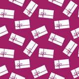 Presents - seamless pattern Stock Images