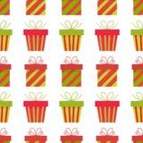 Presents seamless pattern Royalty Free Stock Photos