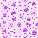 Presents Seamless Pattern Stock Images