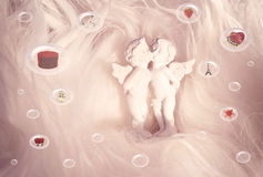Presents for St Valentine Royalty Free Stock Images