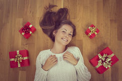 Presents time Stock Photography