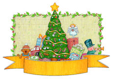 Presents Under The Christmas Tree Royalty Free Stock Photo