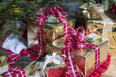 Presents under the Christmas Tree. Christmas Presents under the Christmas Tree Stock Image