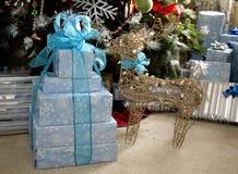 Presents Under Tree Royalty Free Stock Photo