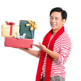 Presents for you! Stock Photo