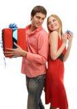 Presents! Royalty Free Stock Photos