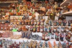 presepe итальянки figurines стоковое изображение rf
