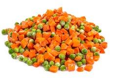 Preservación de vitaminas en las verduras congeladas Foto de archivo