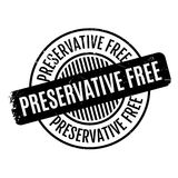 Preservative Free rubber stamp Royalty Free Stock Image