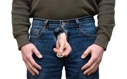 Preservativo, control de la natalidad, sexo seguro, enfermedades, STD Imagen de archivo libre de regalías